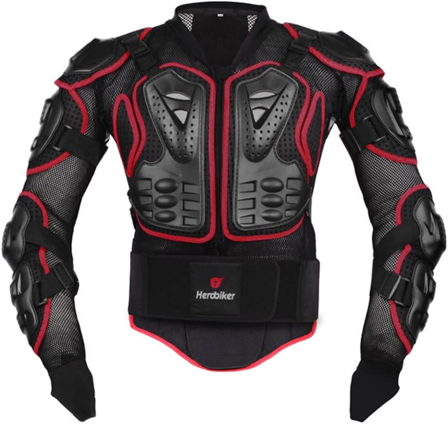 Motorcycle Body Armor Jacket Rider Chest Protector Back Guards Impact Hip Shorts