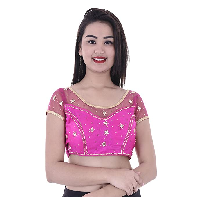 2018 shoes good out x factory outlet Amazon.com: Indian Handmade Designer Net Silk Saree Blouse ...