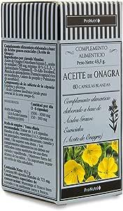 ProNutri Aceite de Onagra - 3 Paquetes de 60 Cápsulas: Amazon.es ...