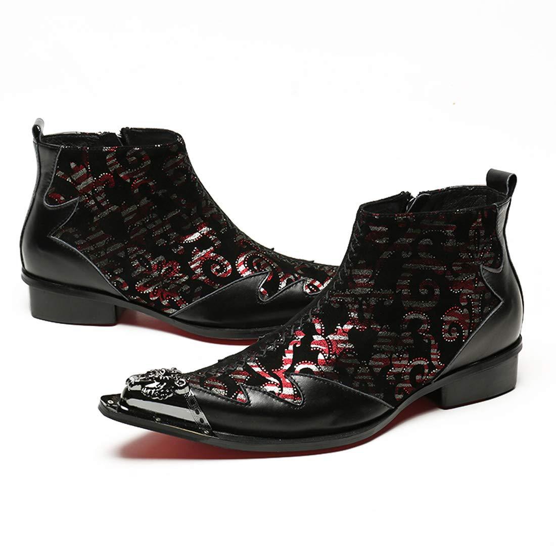 DANDANJIE Herren Stiefel Carvings British Retro Business Stiefel Neuheit Schuhe Schuhe Schuhe 7958ee