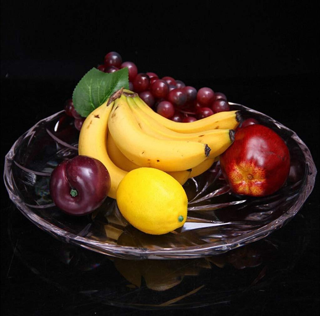 WUYAO Obstteller Obstablage Candy Plate Pc Acryl Mehrzweck Obstteller Lebensmittelqualität Kunststoff Snack Platte Geschirr Schalen & Schüsseln größe : 30cm