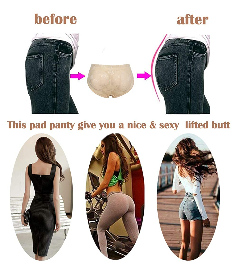 MISS MOLY Panty Padded Pad Butt Lifter Body Shaper Lifter Booty Hip Enhancer Shapewear Slimming Shaping Pants Knickers