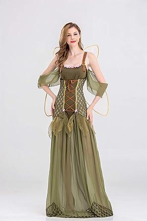 Ruanyi Disfraz de Halloween Adulto Traje de duende de flor ...