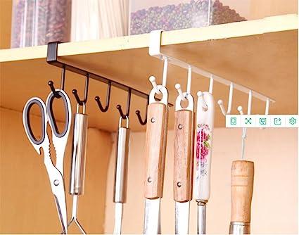 mixed Color Lovely 3pcs Useful Multi-purpose Storage Hook U-shaped Wall-mounted 4 Hooks Clothes Glass Mug Shelf Hanger Wardrobe Holder Large Assortment