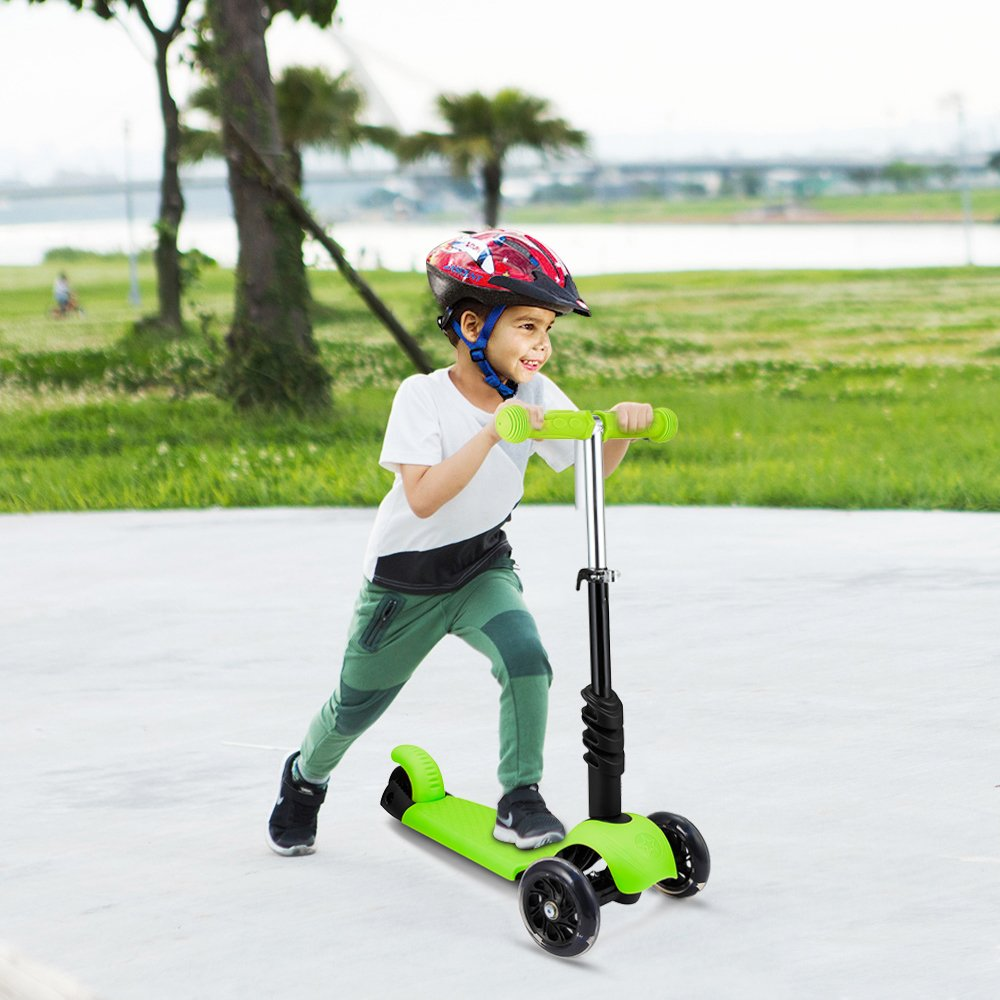 Support 110Lbs LED Light up Wheels for Boys Girls Age 2-6 WeSkate Scooter for Kids Toddlers 3-in-1 Adjustable 3 Wheels Kick Scooter with Removable /& Adjustable Seat
