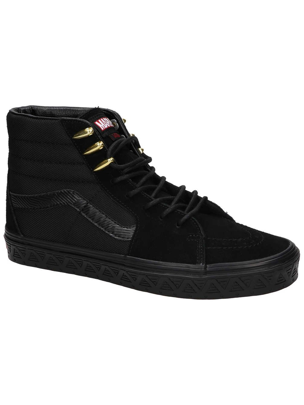 Vans Marvel New Style (6 Women/4.5 Men M US, Marvel Black 263)