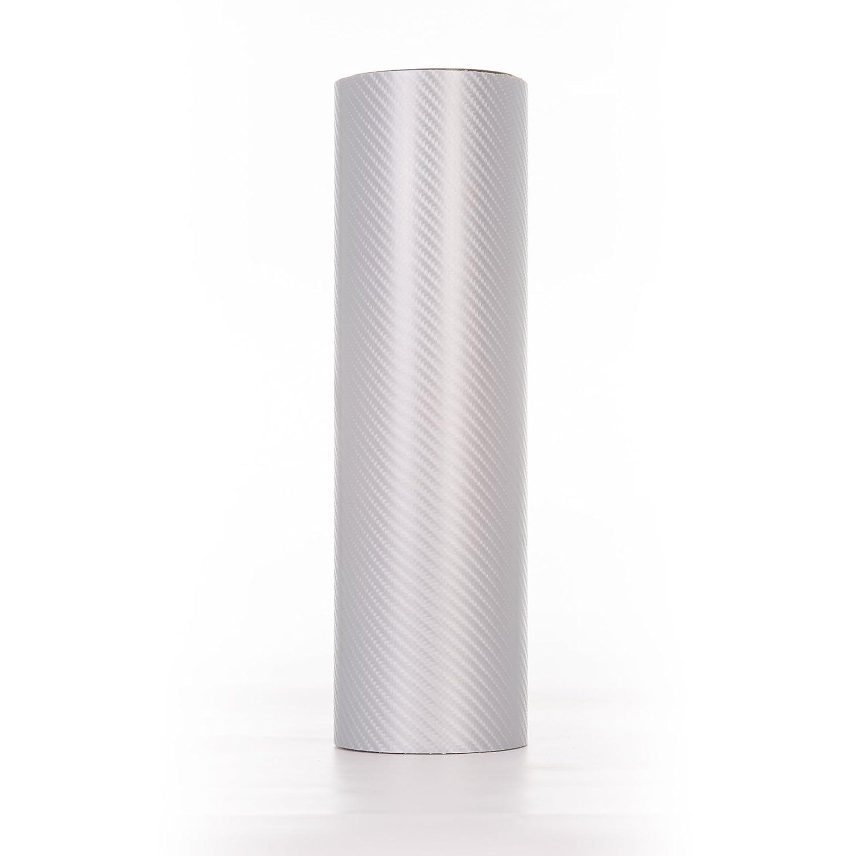 1.52 Metres x 5 Metres, Dark Grey Hyperlex 4D Memory Carbon Fibre Vinyl Wrap