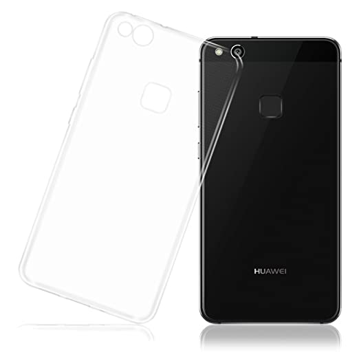 5 opinioni per Cover HUAWEI P10 Lite, LafeiRabbit Silicone Ultra Trasparente Crystal TPU