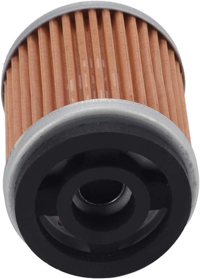 Wetenex 3UH-E3440-00 5HO-13440-00 5HO-13440-09 Oil Filter Replacement for Yamaha SRX250 TT-R225 TT-R230 TW200 XT225 XT350 YFB250 YFM200 YTM200 HF143