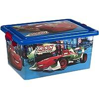 ColorBaby - Caja ordenación 13 litros, diseño cars