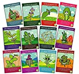 Zziggysgal Herb Seeds Set, Non GMO, Easy to Follow Instructions (12 Varieties)