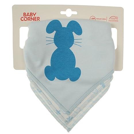 Bebé Corner bebé niño niña de mochilas de toalla Cuello Babero en Juego de 3 Conejo