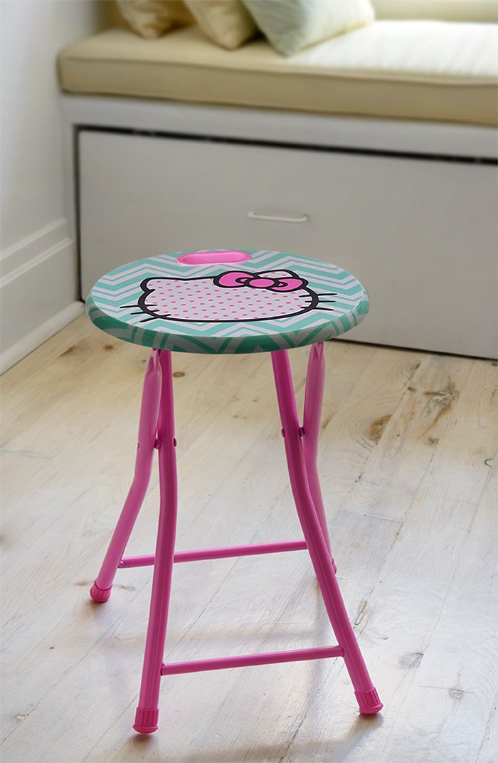 dar Living Hello Kitty Folding Stool with Handle by dar Living