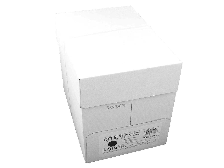 Papyrus Office Point Kopier-Papier 80g//m² DIN A4 1000 Blatt Weiß Drucker-Papier