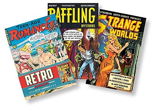 Retro Comics Journals: Set of 3 Journals