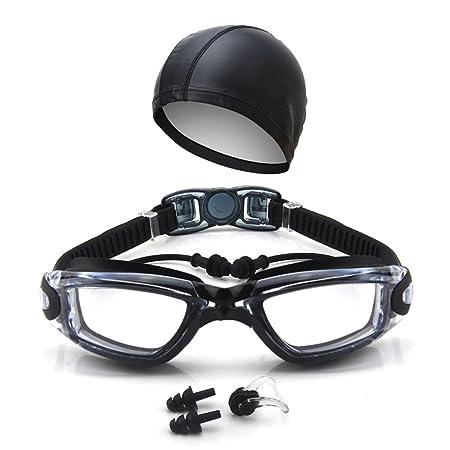7bf848fddad Swimming Goggles Anti-Fog Big Box Plating Men S And Women S Swimming  Glasses Swimming Caps With Earplugs Goggles  Energy Class A+