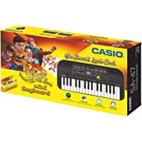 Casio SA47 Mini Portable Keyboard with Free Rudra Stationery Box