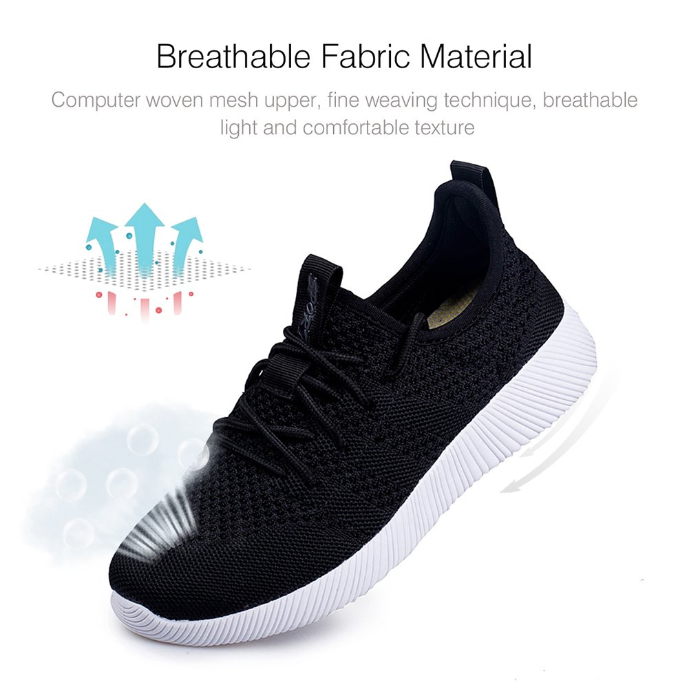 Kivors Men Breathable Mesh Sneakers Gym Casual Shoes SlipOn Lightweight Outdoor Athletic Training
