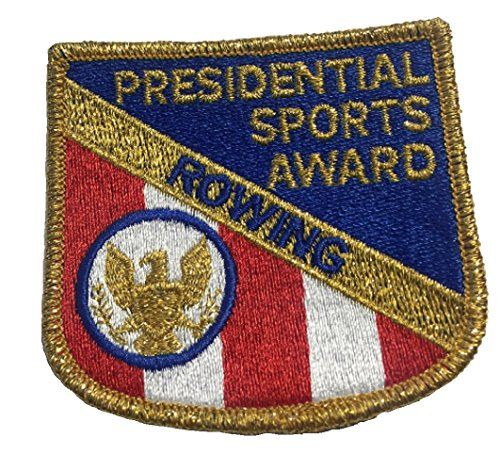Presidential Patch - Rowing - Presidential Sports Award - Vintage Embroidered Patch