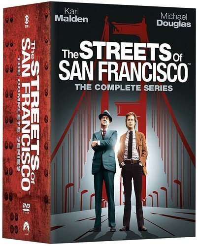 DVD : The Streets of San Francisco: The Complete Series (Oversize Item Split, Full Frame, Slipsleeve Packaging, 32 Disc)
