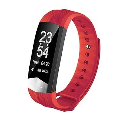 Bracelet Connectée Podomètre Fitness Tracker d'Activité,Multifonctions Électronique,Tracker Sommeil,d'Activité Fitness,Compteur de Calories,Alertes intelligentes,Avec Ecran Tactile Magn&eacu