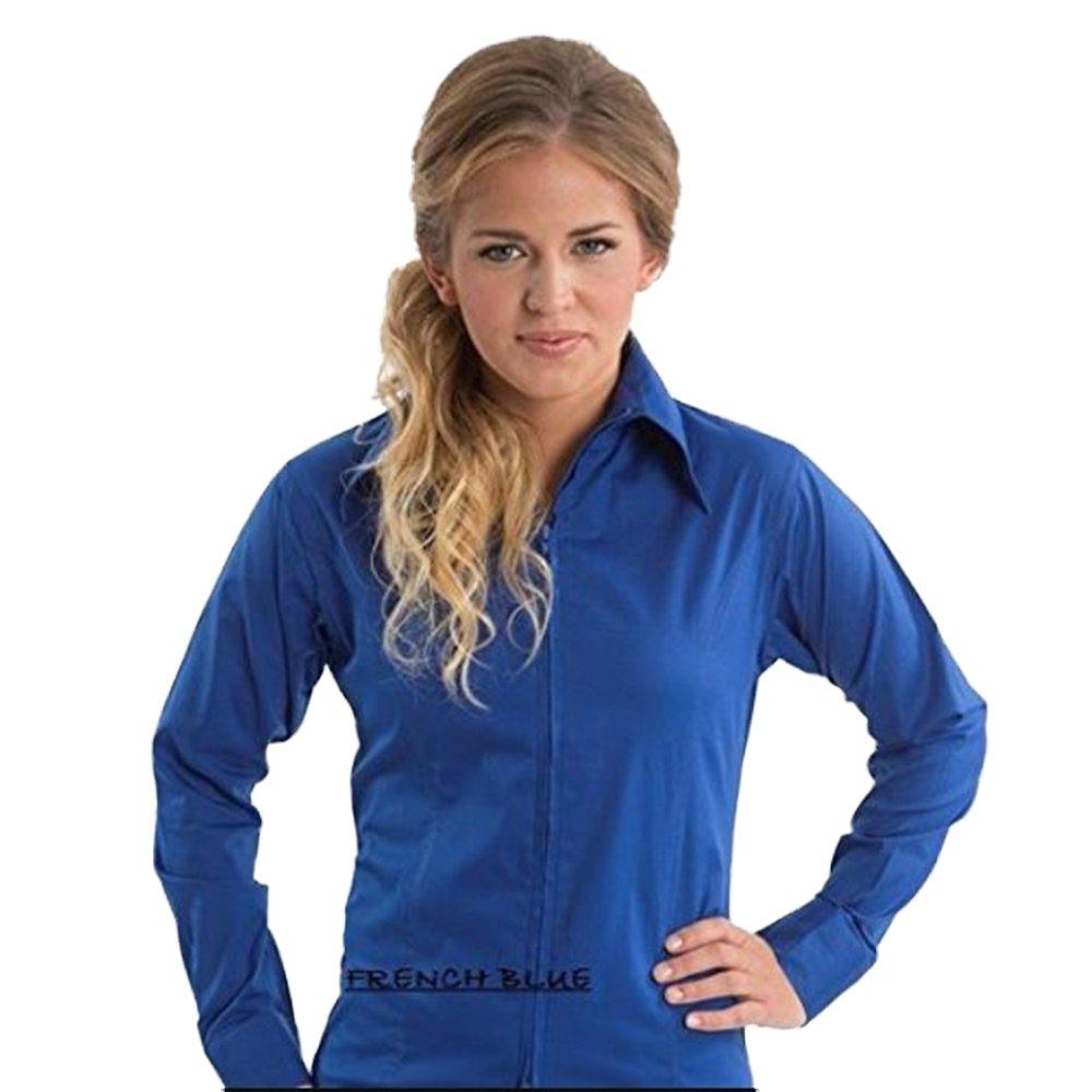 最新情報 Zip Zip Up Fitted Small Showシャツ Fitted B013POY080 Small|フレンチブルー フレンチブルー Small, キタウオヌマグン:44bdaf91 --- pangulfvalves.com