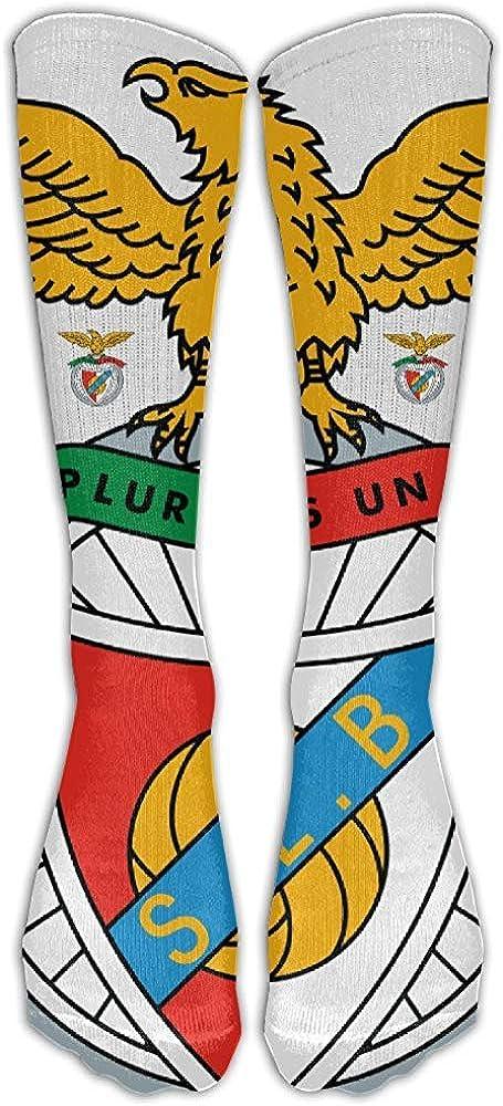 Benfica Football Club Kniehohe Athletic Socer Socken Fancy Fan Unisex ELIST S.L