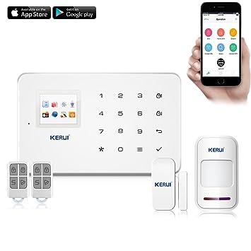 KERUI G18 Sistema de seguridad GSM, sistema de alarma ...
