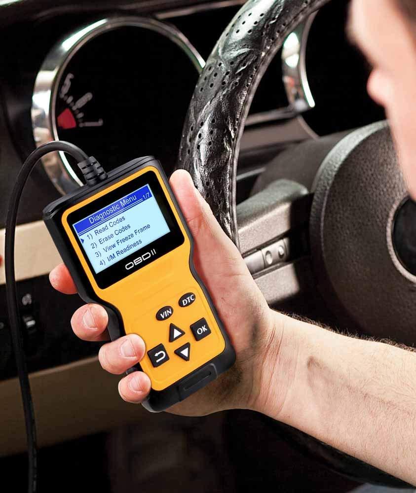 Panlong OBDII OBD2 Scanner Check Engine Light (MIL) Car Diagnostic Code Reader Scan Tool by Panlong (Image #4)