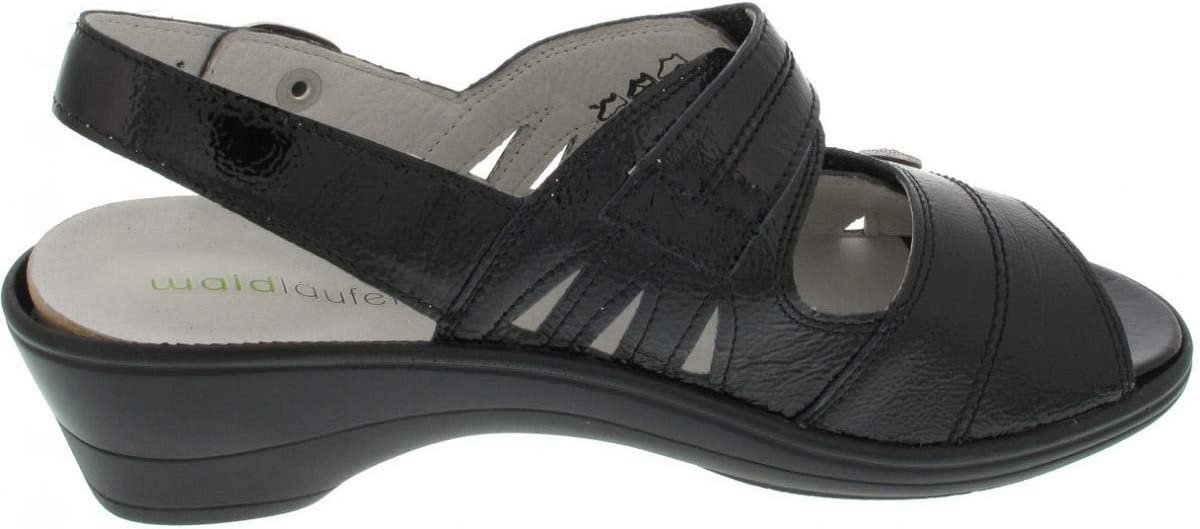 Waldloper dames sandalen 445007143/001 zwart 598517 zwart