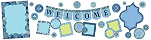 "Eureka Back to School""Welcome"" Bulletin Board Classroom Decorations for Teachers, 32pcs"