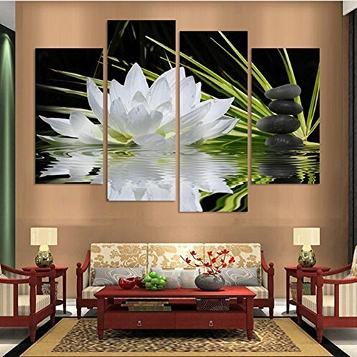 Captivating Enchanting And Beautiful Lotus Flower Wall Art