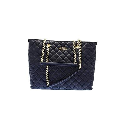 Damen Jc4005pp14la0751Amazon Blau Love Tasche Moschino WEDHY29I