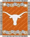 The Northwest Company Texas Longhorns Triple Woven 36'' x 48'' Baby Blocks Blanket/Throw