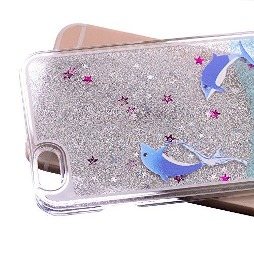 Apple iPhone 6/6S Étui de protection étui rigide en plastique delhpine la Mer Party decui Multicolore Plastique rigide Coque