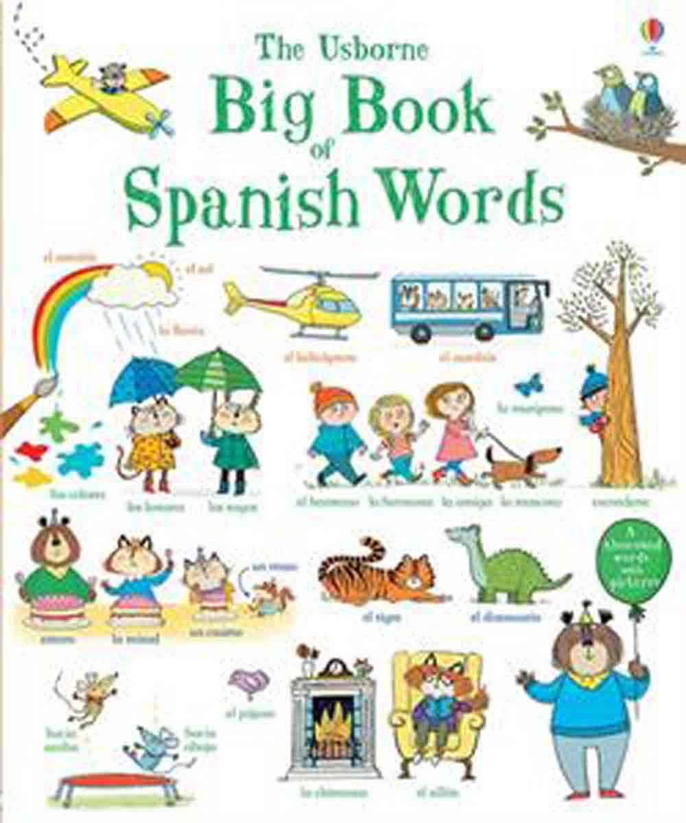Big Book of Spanish Words IL: Mairi Mackinnon, Various ...