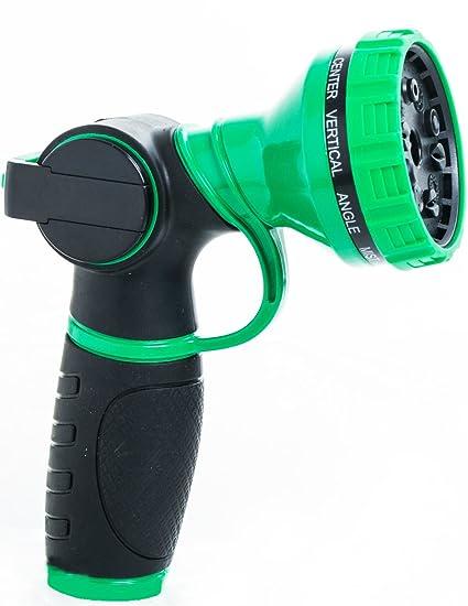 Amazoncom Riemex Hose Nozzle Heavy Duty Metal Sprayer Brass 10