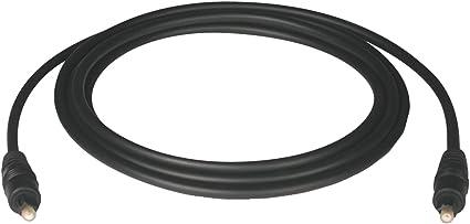 A102-01M ,BLACK,1 meter Tripp Lite Toslink Digital Optical SPDIF Audio Cable 1M 3-ft.
