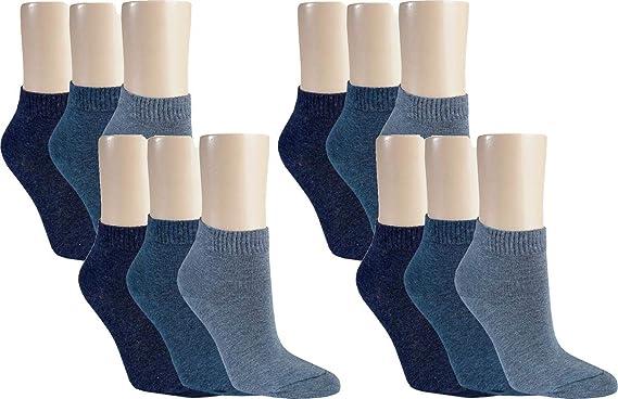 Qualitätsprodukte am besten verkaufen Neupreis Vitasox Damen Kurzsocken Socken uni ohne Naht 6/12 Paar