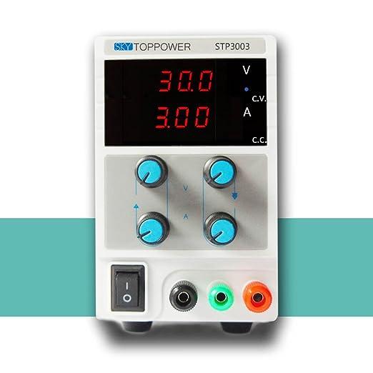 20 opinioni per KKmoon 0-30 V 0-3A Mini Alimentatore Disciplinato Laboratorio Digitale DC
