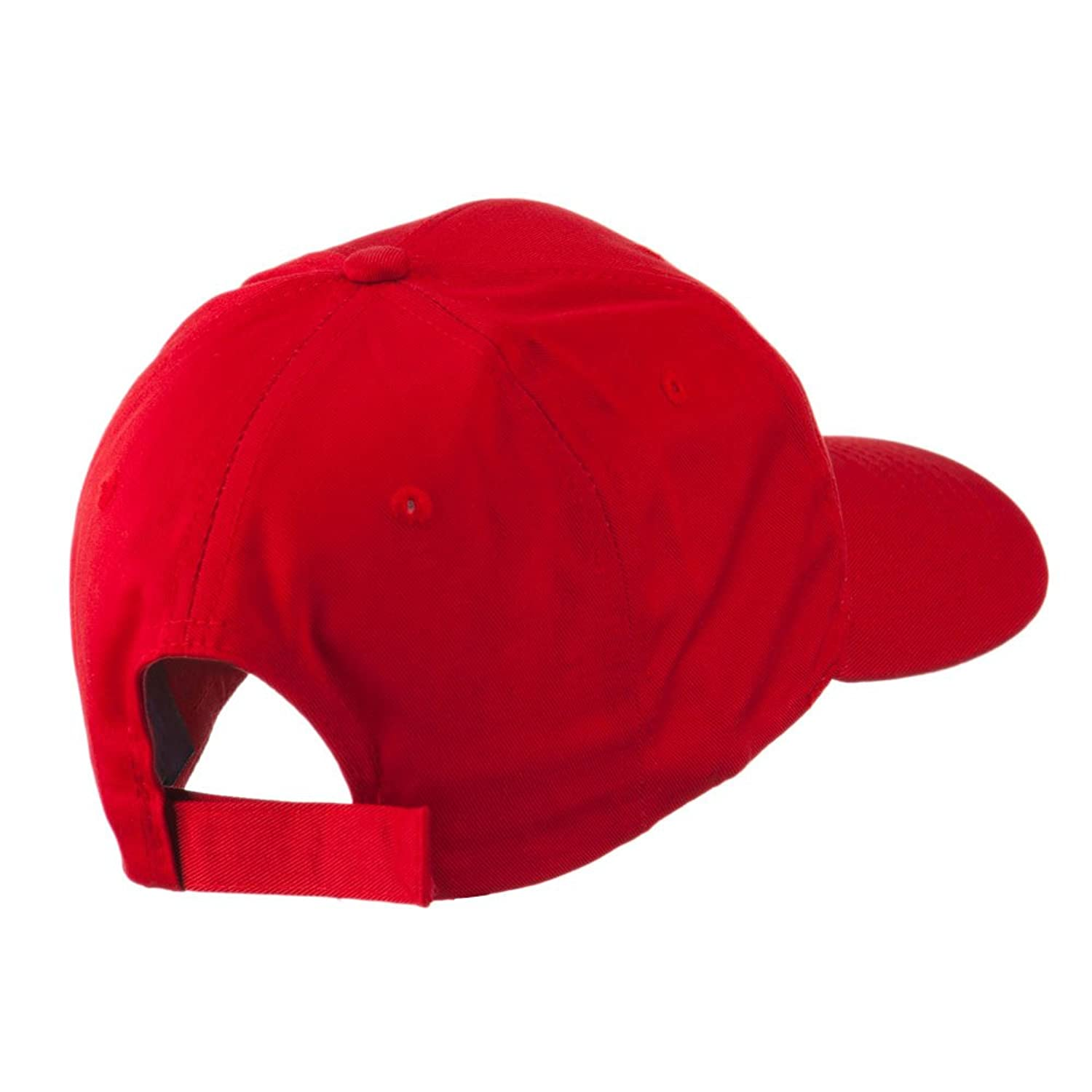 christmas hat with santa claus embroidered cap red osfm at
