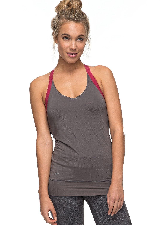 Roxy - Top para Yoga - Mujer - XS - Negro: Roxy: Amazon.es ...