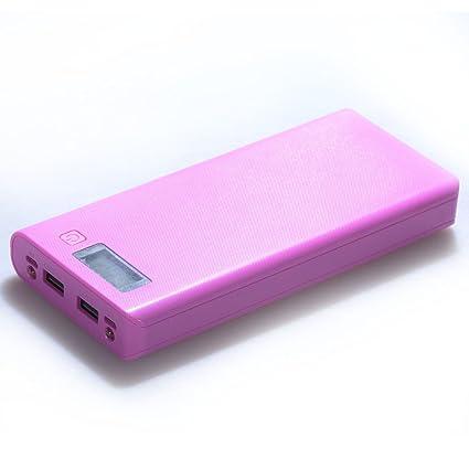 Cargador móvil y portátil de 5V 2A DIY Dual USB Power Bank ...