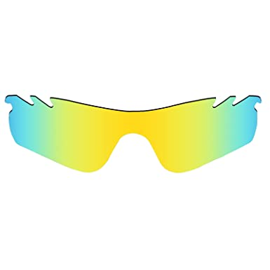 e15ecfe176 MRY POLARIZED Replacement Lenses for Oakley RadarLock Path Vented Sunglasses  (24K Gold)  Amazon.co.uk  Clothing