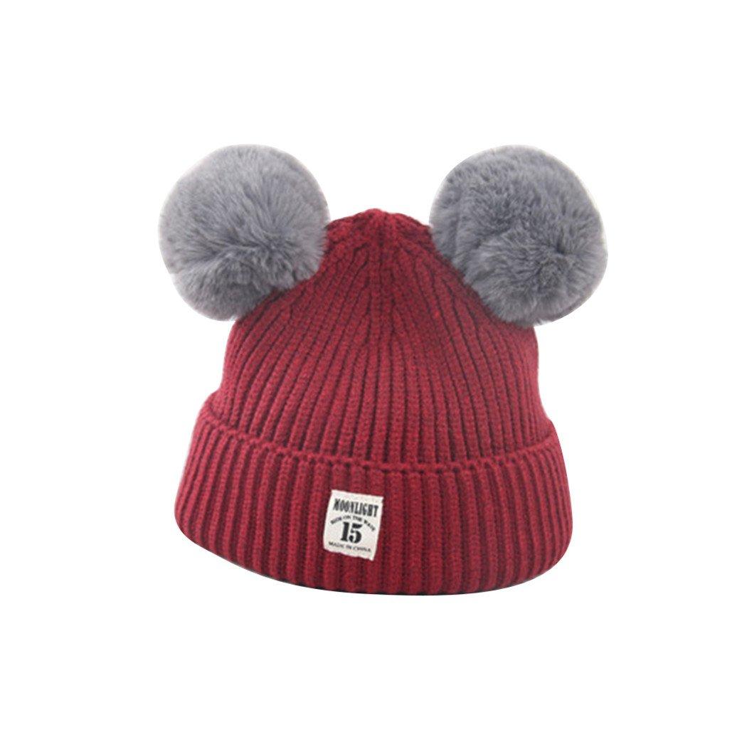 Colorido HAT ベビーガールズ HAT Size One Size One ワインレッド B076KBJHLH, MiHAMAの家具:2767b56f --- ijpba.info