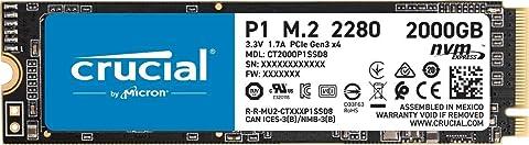 #海淘#Crucial P1 2TB 3D NAND NVMe PCIe 固态硬盘