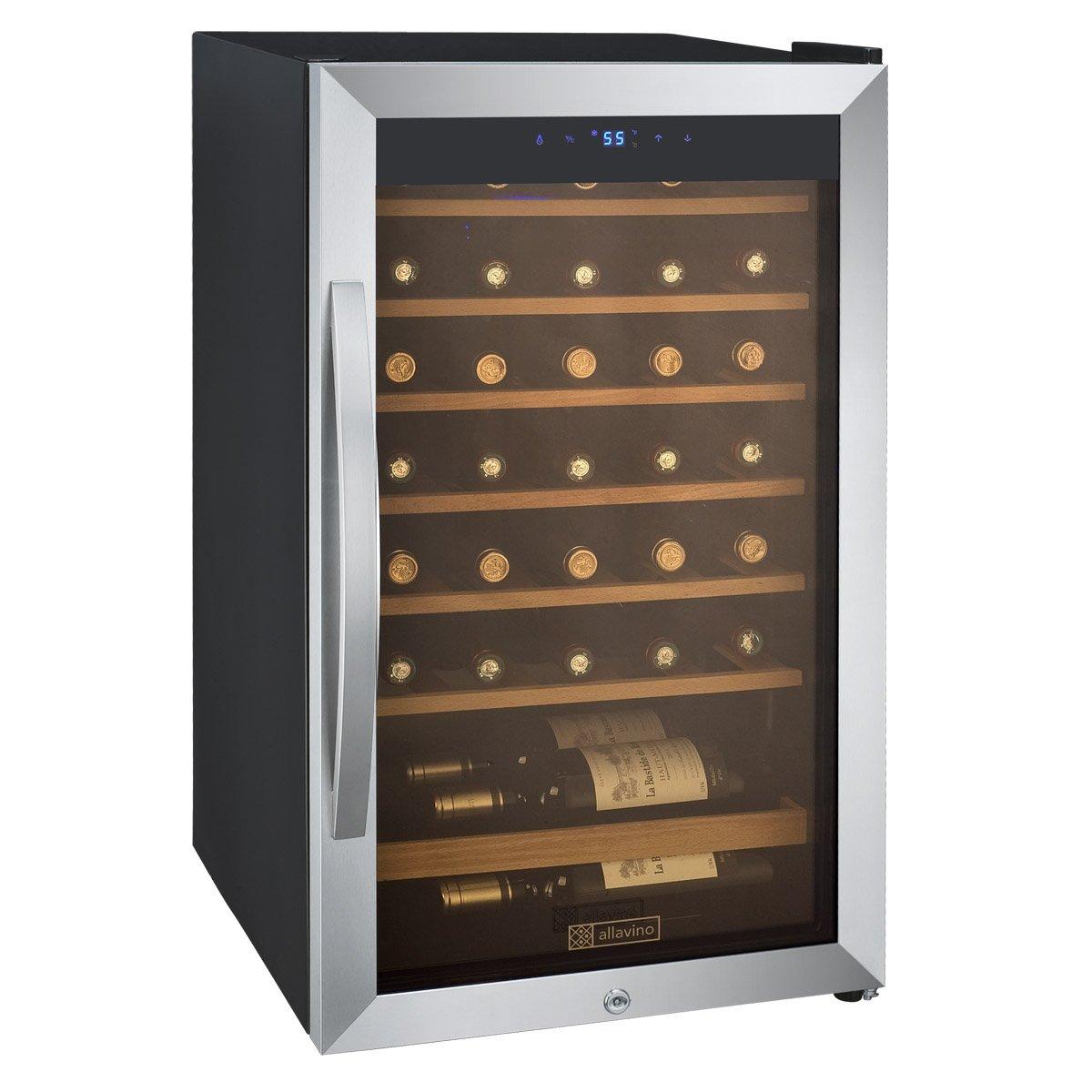 amazoncom cascina 34 bottle single zone wine appliances