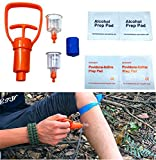 EatingBiting(R)Venom Extractor Suction Pump Snake Bite Bee Sting Scorpion mosquito spider wasps centipede Bite attack Emergency First Aid Supplies for Hiking Backpacking Camping exploration adventure