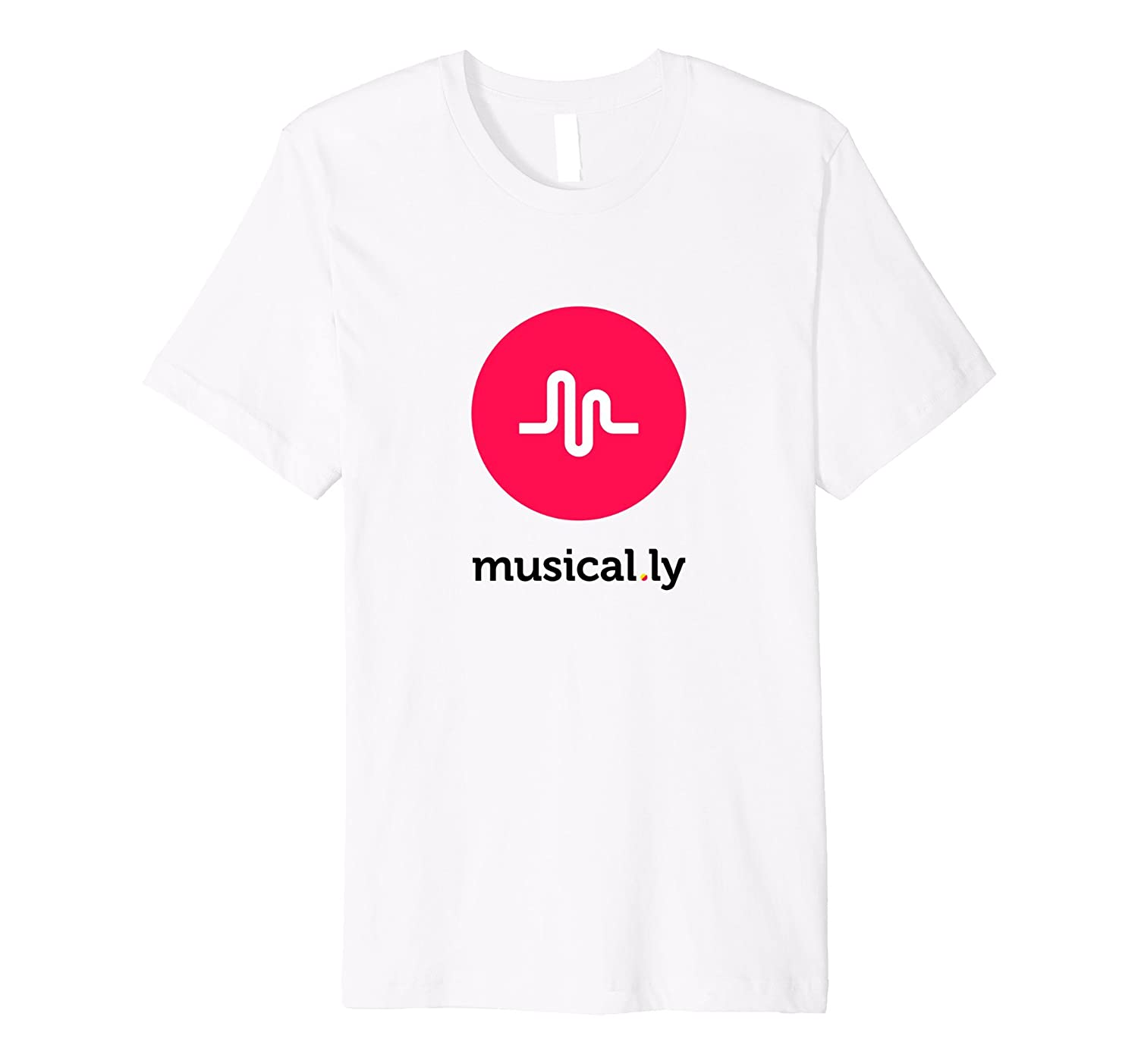 musically T-Shirt White - Fitted Cut-CD