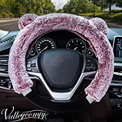 Feature: material : plush + rubber. Size:suitable for the Steering Wheel diameter 38cm / 15 in . Suitable for: Ford, Audi, BMW(except Mini,old 7 series), Buick(except GL8 old Regal), Fiat, Hyundai(except ix35), Cheetah, Chevrolet, Citroen(exc...